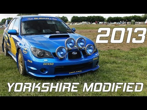 Yorkshire Modified Car Show 2013 @ Pickering Showground – Highlights!