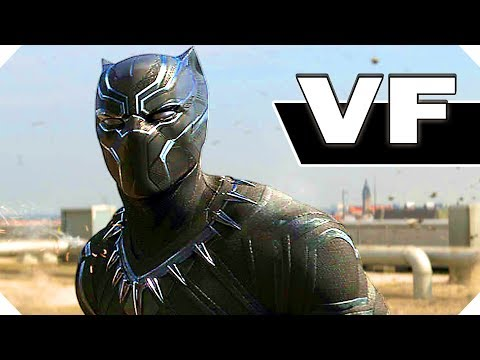 BLACK PANTHER Bande Annonce VF (2018)
