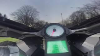 9. Ducati 749 dark go pro town ride