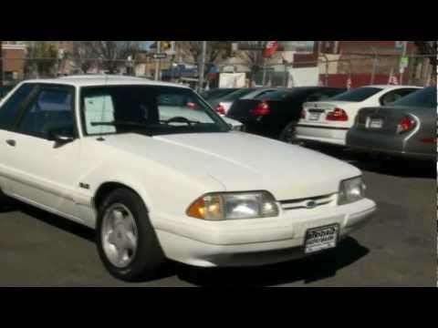1993 Ford Mustang 5.0 LX Notchback Fox Body Test Drive Straight Pipes