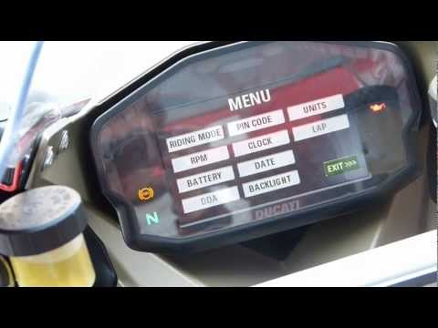 Motorcycle Sport & Leisure: Ducati 1199 Panigale – Electronic Dash Package