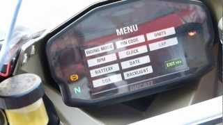 8. Motorcycle Sport & Leisure: Ducati 1199 Panigale - Electronic Dash Package