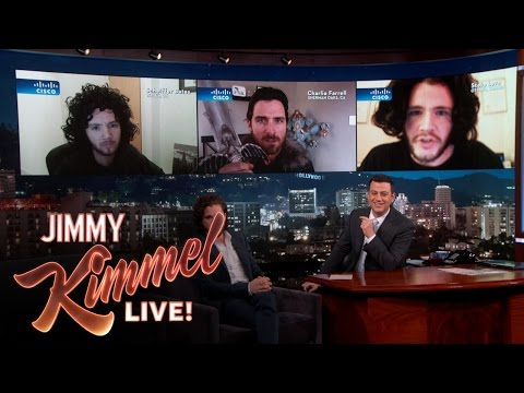 Jon Snow Impersonators Judged By Jon Snow