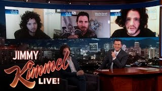 "Kit meets three men who do impressions of Jon Snow, his character on ""Game of Thrones."" SUBSCRIBE to get the latest ..."