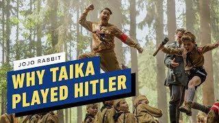 Jojo Rabbit: Why Taika Waititi Played Hitler by IGN
