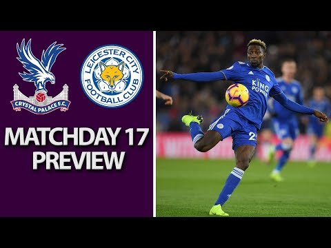 Video: Crystal Palace v. Leicester City | PREMIER LEAGUE MATCH PREVIEW | 12/15/18 | NBC Sports