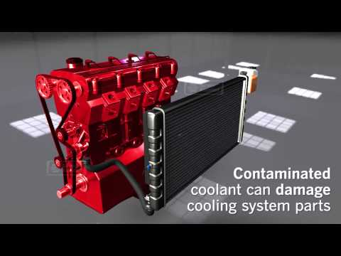 Animation on How Vehicle Cooling Systems Work