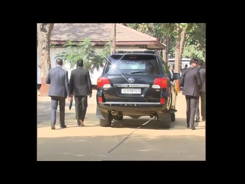 Rousing Reception of Israeli PM Netanyahu and PM Modi at Ahmedabad, Gujarat