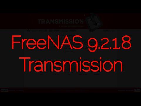 FreeNAS® 9.2.1.8 Transmission Plugin