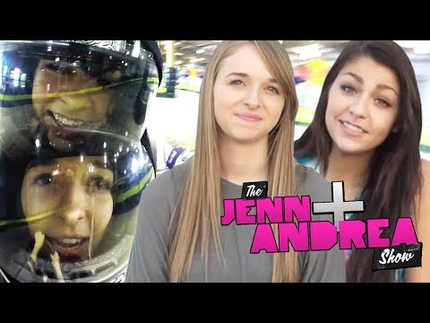 andrea - THE ANDREA & JENN SHOW ep 3 ... ROOM TOURS! - http://bit.ly/1gn55ZH Did you notice that Andrea Russett called Jennxpenn a bad driver when they went apartment...