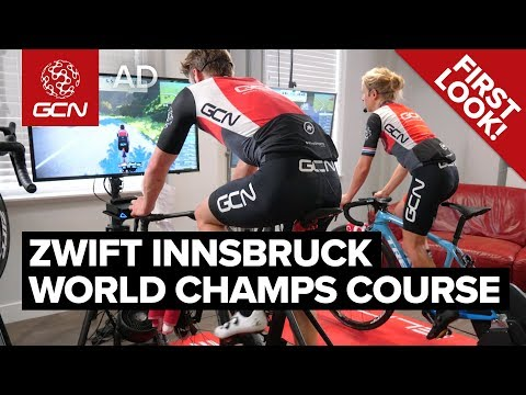 Zwift Innsbruck World Championships Course | GCN's First Look