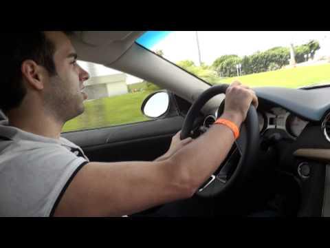 Raw HD Footage of Fisker Karma Test Drive