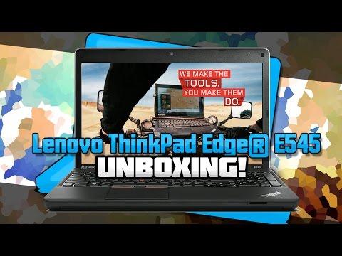 Lenovo ThinkPad Edge® E545 - UNBOXING