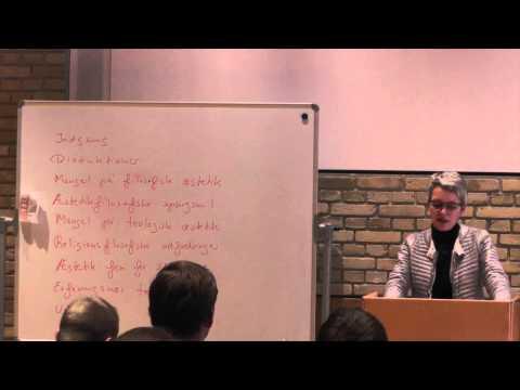 Med kunsten og æstetikken ind i teologien v. Dorthe Jørgensen