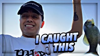 fishing with Rudy Rojas