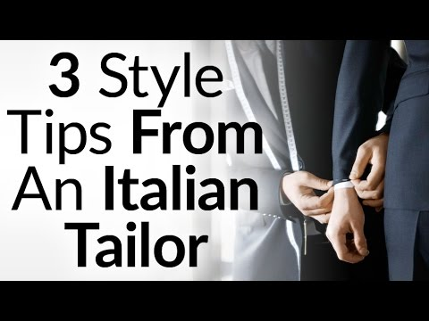 3 Old School Style Tips From An Italian Tailor | The Difference Between Dressing Vs Covering