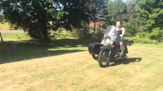 7. Yard cruising on a 2002 Ural