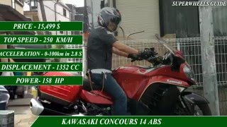 6. KAWASAKI CONCOURS 14 ABS VS BMW K1600 GT-specifications