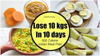 900 calorie diet plan to lose weight fast, flat belly diet plan to lose 10 kgs in 10 days. #900calorie #loseweightfast #lose10kgs #10kgs #nisahomey #dietplan...
