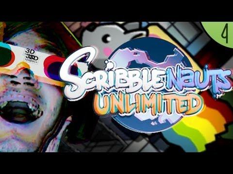 SPOOKY 3D! – Scribblenauts: Unlimited – Part 4