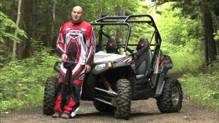 1. Dirt Trax Test Rides 2009 Polaris RZR Sport