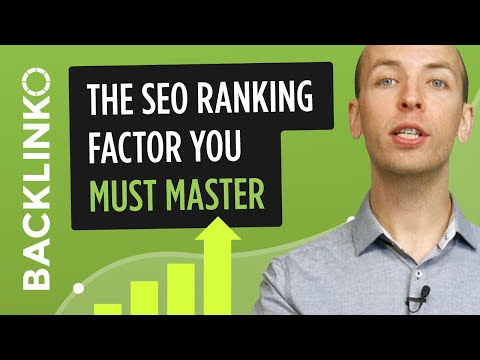 The SEO ranking factor you MUST master in 2016 (and beyond)