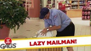 Lazy Mailman FAILS at His Job