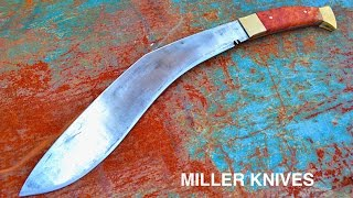 https://www.facebook.com/Miller-Knives-285026088542858/ Facebook pageHere is how I forged a Kukri