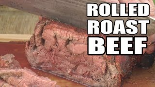 Slice and Roll Roast Beef by the BBQ Pit Boys by BBQ Pit Boys