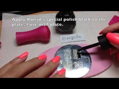nail art con stampi