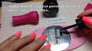 Stamping Nail Art, Step by Step tutorial - YouTube
