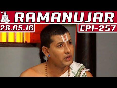 Ramanujar-Epi-257-Kalaignar-TV-26-05-2016