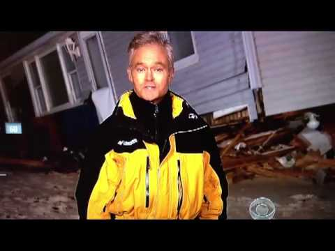 Long Beach Island on CBS - Hurricane Sandy