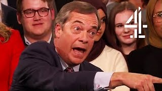 Video Nigel Farage Disagrees with New Brexit Survey Results | Brexit: What The Nation Really Thinks MP3, 3GP, MP4, WEBM, AVI, FLV Maret 2019