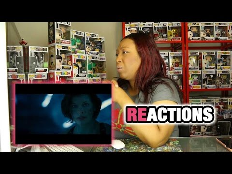 Resident Evil: The Final Chapter Official Trailer 1 (2017) - Milla Jovovich Movie Reaction