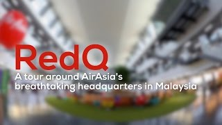Video RedQ - A tour around AirAsia's breathtaking headquarters! MP3, 3GP, MP4, WEBM, AVI, FLV Juni 2018