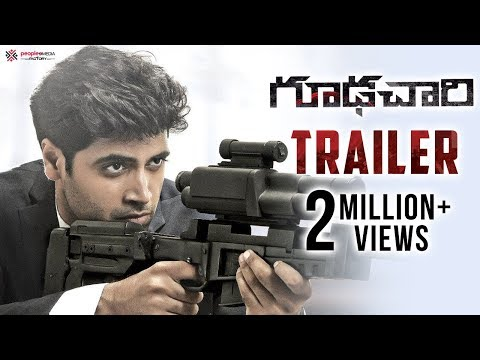 Goodachari Official Trailer 4K