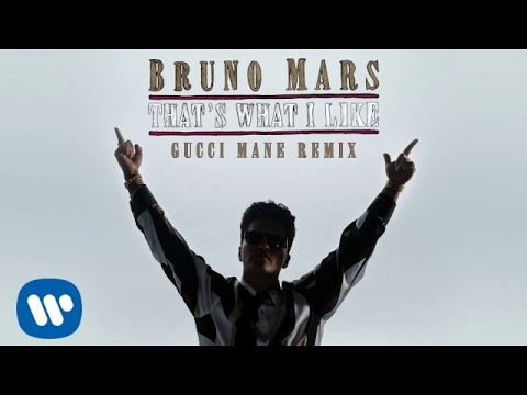 Video Bruno Mars - That's What I Like (Gucci Mane Remix) download in MP3, 3GP, MP4, WEBM, AVI, FLV January 2017