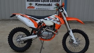 6. $9,899:  2015 KTM 500 XC-W Overview and Review