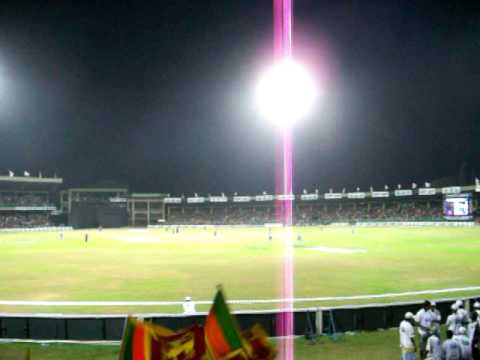 From the stands of a Sri Lankan cricket stadium (Premadasa/Khettarama)