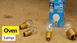 For cooker bulb & other cooker spare parts go to http://bit.ly/1LQuKubEnter your model number at eSpares for an original bulb for your cooker or oven. Or alternatively choose from our range of universal cooker lamps.
