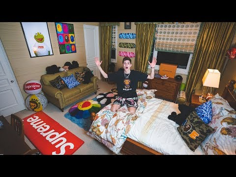 My New Dream Hypebeast Bedroom Tour
