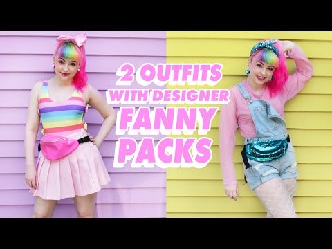 ♡ HOW TO STYLE FANNY PACKS ♡