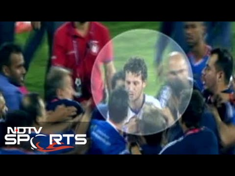 The fight after the ISL final. Here's what you didn't get to see.