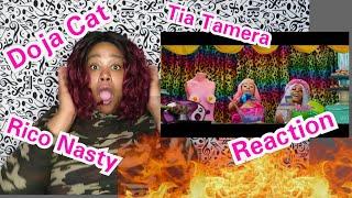 Doja Cat - Tia Tamera (Official Video) ft Rico Nasty Reaction