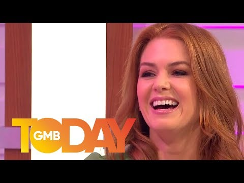 Isla Fisher Reveals What It Is Like to Live With Sacha Baron Cohen | GMB Today