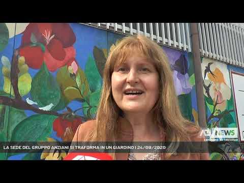 LA SEDE DEL GRUPPO ANZIANI SI TRAFORMA IN UN GIARDINO | 24/09/2020