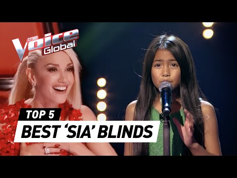 BEST 'SIA' Blind Auditions in The Voice | The Voice Global (видео)