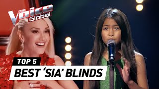 Video BEST 'SIA' Blind Auditions in The Voice (Kids) | The Voice Global MP3, 3GP, MP4, WEBM, AVI, FLV Mei 2018