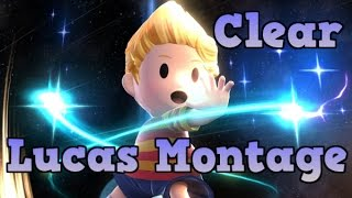 [Smash 4] Clear – A Smash 4 Lucas Montage. Critiques are welcome!